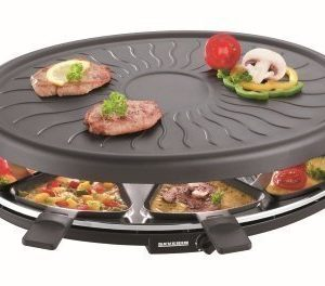 Severin 2681 Raclette-grilli 8 pannulla