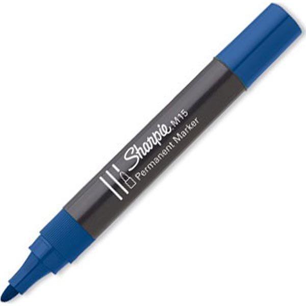 Sharpie merkkauskynä M15 12 kpl kuulakärkikynää sininen