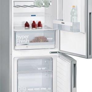Siemens Kg36vvi32 Iq300 Jääkaappi Pakastin Teräs