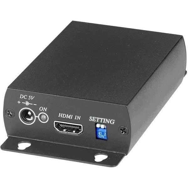 Signaalinmuunnin HDMI - SDI BNC PAL/NTSC/720p/1080p musta