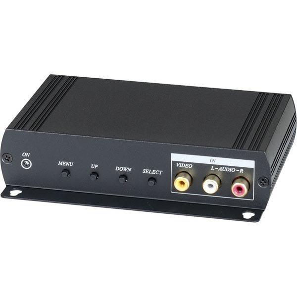 Signaalinmuunnin komposiittivideo äänellä 3xRCA -> HD15 na jatko