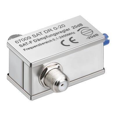 Signaalinvaimennin > DVB-S ja DVB-T kaksi F-n-liitosta