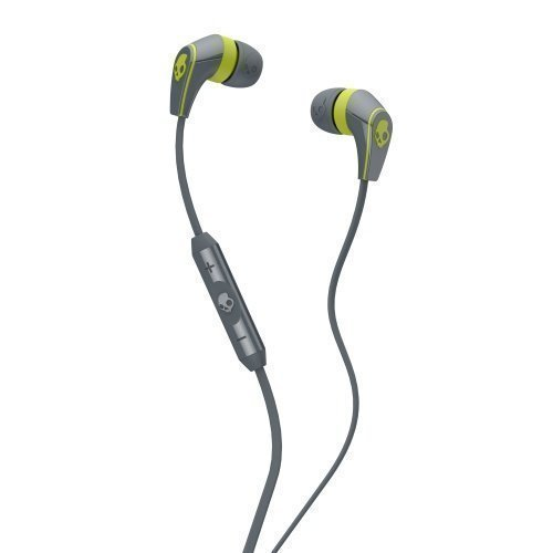 Skullcandy 50/50 2.0 In-Ear with Mic3 for iPhone Grey / Lime