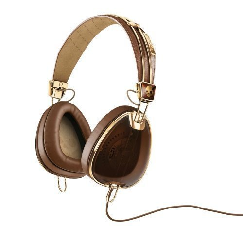 Skullcandy Aviator 2.0 FullSize with Mic3 for iPhone Brown