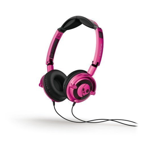 Skullcandy Lowrider 2.0 On-Ear with Mic1 Pink