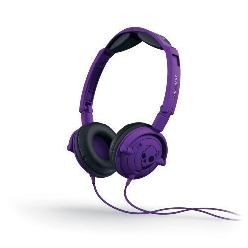 Skullcandy Lowrider 2.0 On-Ear with Mic1 Purple