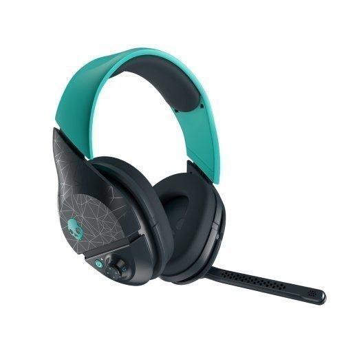 Skullcandy PLYR2 Cordless Headset Grey & Turquoise