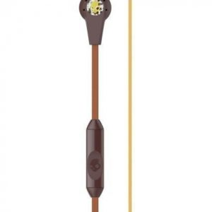 Skullcandy RIOT IN-EAR W/MIC 1 Explorer Burgundy Mustard Nappikuuloke