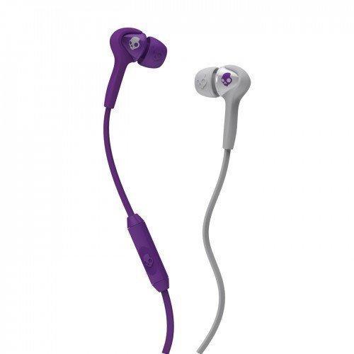 Skullcandy SMOKIN BUDS Athletic Purple/Grey w/Mic