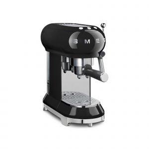 Smeg Ecf01bleu Espressokeitin Musta