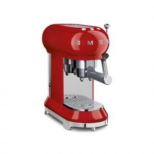 Smeg Ecf01rdeu Espressokeitin Punainen