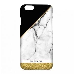 So Seven Marble Gold Iphone 7 Matkapuhelimen Kuori