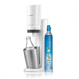 Sodastream Crystal Hiilihapotuslaite Valkoinen