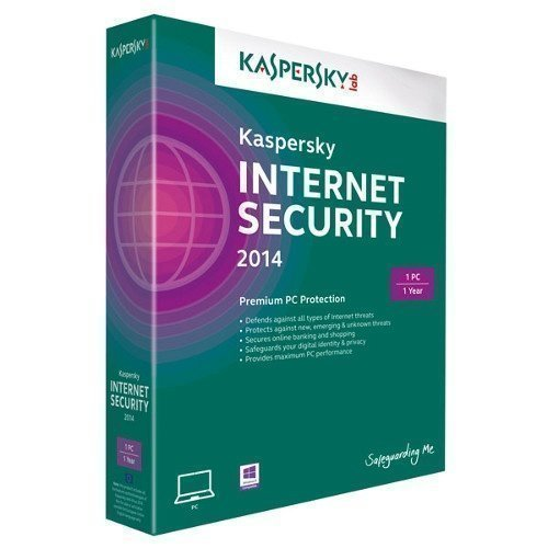Software Kaspersky Lab Internet Security 2014 1anv 1år retail box