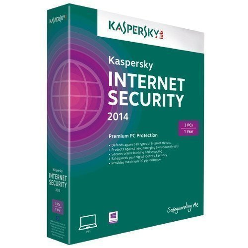 Software Kaspersky Lab Internet Security 2014 3anv 1år retail box