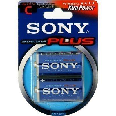 Sony C-cell (LR14) Stamina Plus paristo 1 5V 2-pakkaus