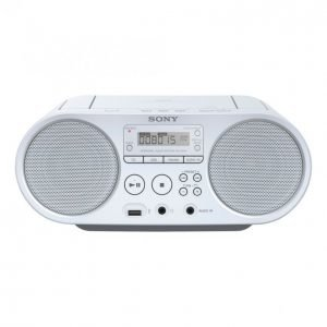 Sony Cd Boombox-Soitin Zs-Ps50 Valkoinen