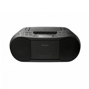 Sony Cfd-S70 Boombox Jossa Cd- / Kasettisoitin Ja Radio Musta