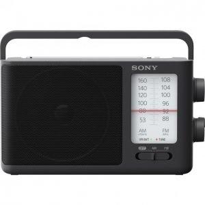 Sony Icf-506 Fm-Radio Verkkovirtaan Ja Paristoilla