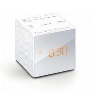 Sony Icf-C1 Kelloradio Valkoinen