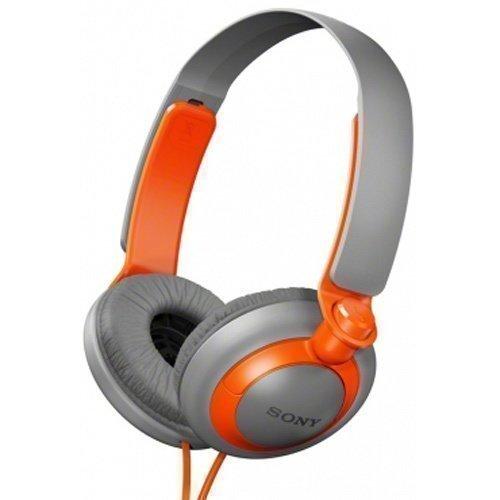 Sony MDR-XB200D Grey / Orange Fullsize