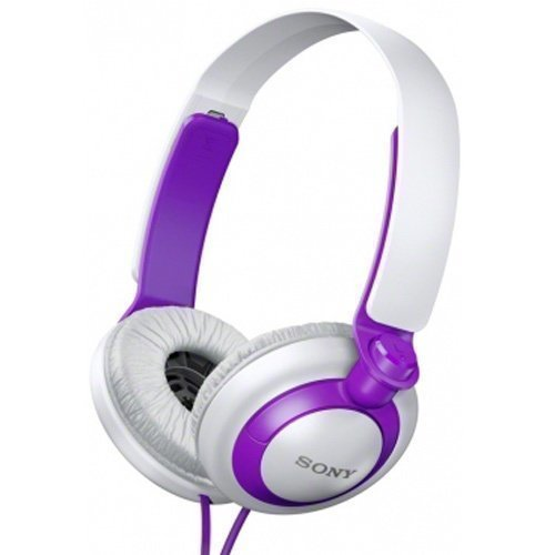 Sony MDR-XB200L Purple / White Fullsize