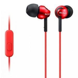 Sony Mdr-Ex110ap Headset Punainen Mdrex110apr.Ce7