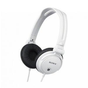 Sony Mdr-V150w Kuulokkeet Dj Valkoinen