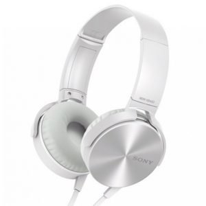 Sony Mdr-Xb450ap Kuulokkeet Valkoinen / Hopeanvärinen