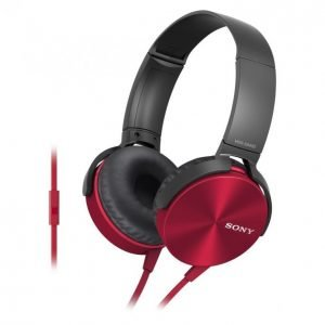 Sony Mdr-Xb450ap Xtra Bass Kuulokkeet Punainen