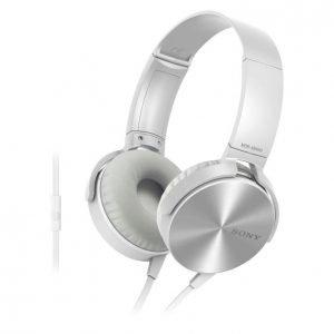 Sony Mdr-Xb450ap Xtra Bass Kuulokkeet Valkoinen