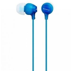 Sony Mdrex15lpli.Ae Nappikuulokkeet Sininen