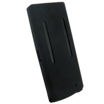 Sony Walkman NWZ-A840 iGadgitz Silikonikotelo Musta