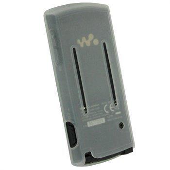 Sony Walkman NWZ-E463 NWZ-E464 iGadgitz Silikonikotelo Vaalea
