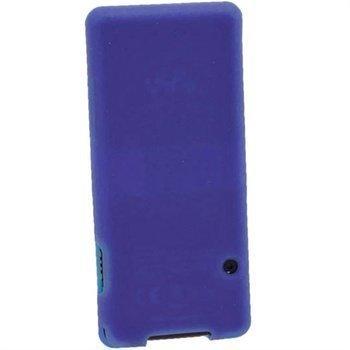 Sony Walkman NWZ-E473 NWZ-E474 iGadgitz Silikonikotelo Sininen