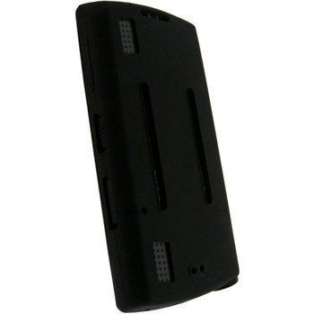 """Sony Walkman NWZ-S540 iGadgitz Silikonikotelo â"""" Musta"""