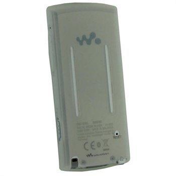 Sony Walkman NWZ-S765 NWZ-S764 iGadgitz Silikonikotelo Kirkas
