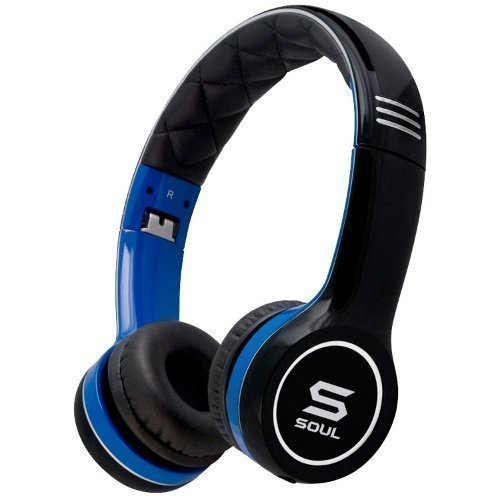 Soul By Ludacris SL100 Blue Ear-pad