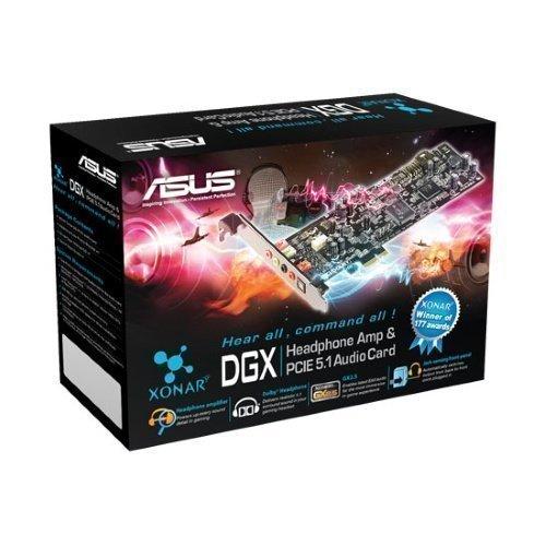 Soundcard-Intern ASUS XONAR DGX 5.1 CHANNEL AUDIO CARD PCIe LP