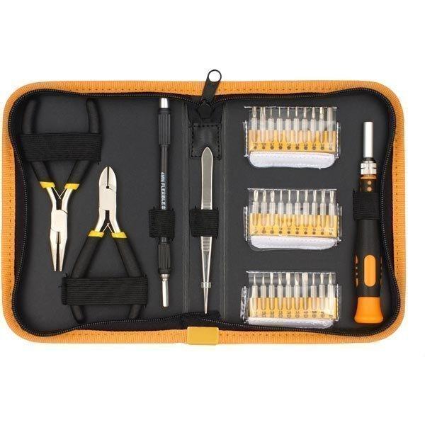 Sprotek STD-5835 - tarkkuustyökalusarja 30 irtokärkeä pihdit pins