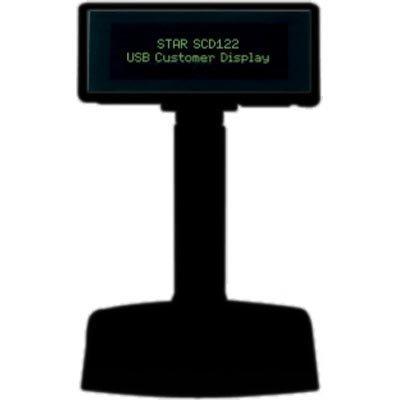 Star SCD122U näyttö asiakkaalle 2x20 kirj. USB 2.0 ESC/POS musta