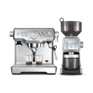 Stollar Dual Boiler Bes920 Espressokeitin + Bcg820 Kahvimylly