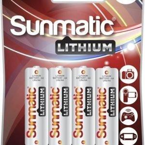 Sunmatic Lithium AA