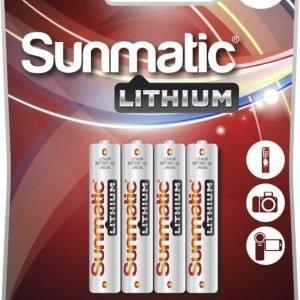 Sunmatic Lithium AAA