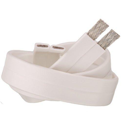 Supra Cables Flat 2x1.6 White 10M