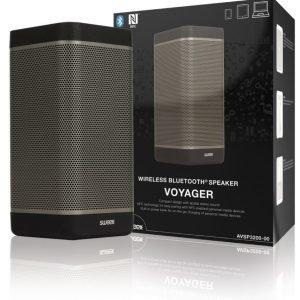 Sweex Voyager Langaton Bluetooth-kaiutin musta