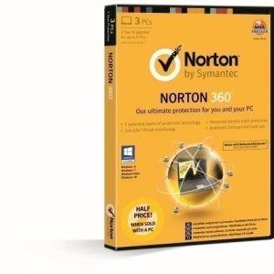 Symantec Norton 360 2013 Store Attach Nordisk 1år för 3 datorer