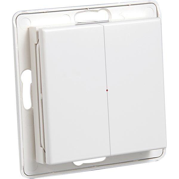 System Nexa Pro WTE-2 langaton seinälähetin ilman kehystä 433MHz