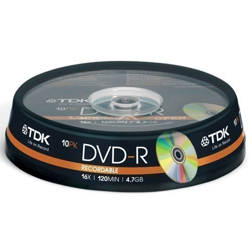 TDK DVD-R 4.7GB 10-pack