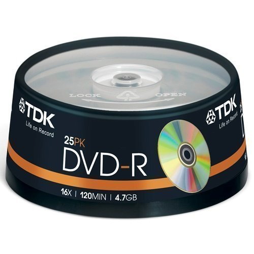 TDK DVD-R 4.7GB 25-pack